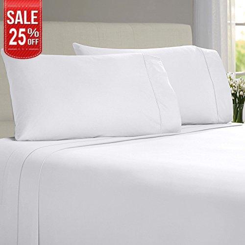LINENWALAS Todays Deal Pillow Cases – 100% Organic Moisture Wicking Bamboo |Silk Like Soft, Hypo ...