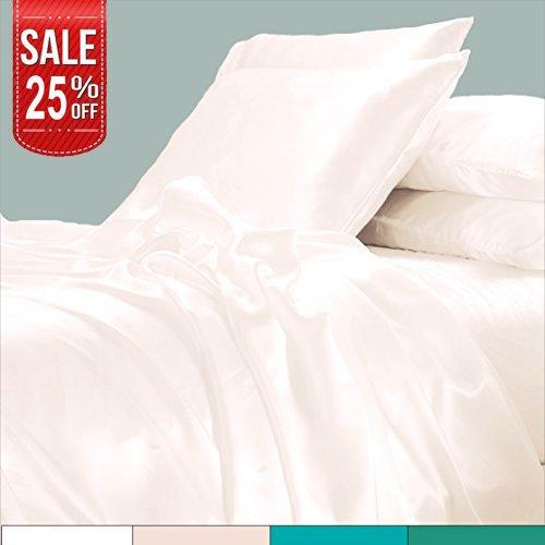 LINENWALAS Todays Deal Pillow Cases – 100% Organic Moisture Wicking Bamboo   Silk Like Soft, Hyp ...