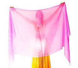 Nahari Silks 100% Silk Soft Pink 82″
