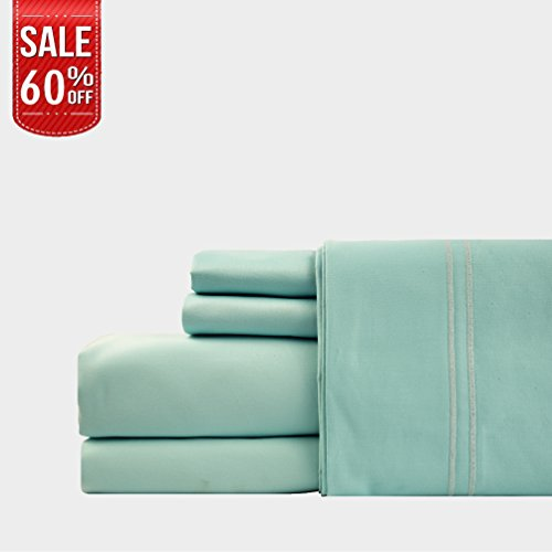LINENWALAS 100% Cotton Pillow Cases – 1000 Thread Count 2 Piece Set | Silk Like Soft, Hypoallerg ...