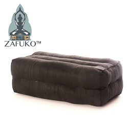 Zafuko Yoga, Meditation, Kundalini and Pilates Cushion (Zafu) block, bolster, floor pillow, prop ...
