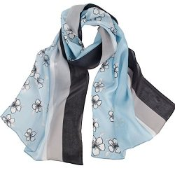 Silk Scarf Women, IRRANI silk scarf long and thin 100% silk