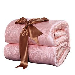Hxiang Pure Mulberry Silk Comforter Silk Duvet Silk Quilt Silk Filled Comforter Doona Blanket Co ...