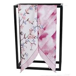 "Silk Scarf Women, 100% Mulberry Silk Scarf Square for Hair 14MM Twill for Women 35""x35&#82 ..."