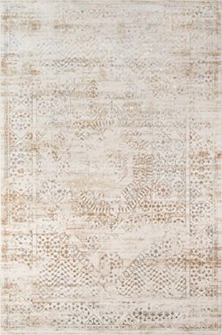 Momeni Rugs JULIEJU-02BGE2030 Juliet Collection Transitional Area Rug, 2′ x 3′, Beige