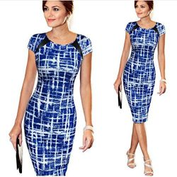 Hot Sale !Pencil Mini Dress,BeautyVan Fashion Charming Waist design Thin Women Bandage Short Sl ...