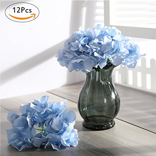 Veryhome pcs blooming silk hydrangea flower heads for