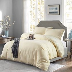 OAITE Duvet Cover,Protects and Covers your Comforter/Duvet Insert,Luxury 100% Super Soft Microfi ...