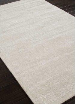 Jaipur Living Kelle Handloom Solid White Area Rug (5′ X 8′)