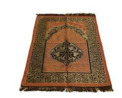 Sparkle Trade Luxury Islamic Prayer Rug Turkish Ottoman Stamp Sajadah Thin Prayer Rug Muslim Gif ...