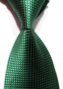 Scott Alain Creation – Neckties Classic Emerald Green 100% New Jacquard Woven Silk Men&#82 ...
