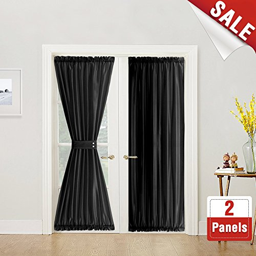 French Door Curtain Panels 72 Inches Long Curtains For French Doors