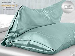 MYK 100% Natural Mulberry Silk Pillowcase, Luxurious 25 Momme for Hair and Skin Care, OEKO-TEX,  ...