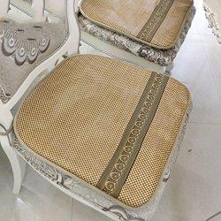 kele Seat cushion,Restaurant ice silk cushions Summer office air cushion-B 48x46cm(19x18inch)