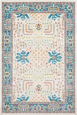 Surya Area Rug, 2′ x 3′, White, Blue