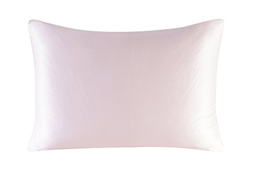 Townssilk Both Side 100% 16mm Silk Pillowcase Queen Size Pillow Case Cover with Hidden Zipper Ro ...
