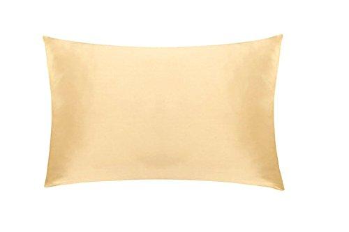 Soft Silker Silk Pillowcase Both Side 100% 19MM Natural Mulberry Charmeuse Hair & Facial Bea ...