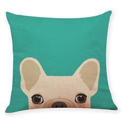 Lowprofile Home Decoration Cute Dog Head Throw Pillow Covers Pillowcase Cushion Cover