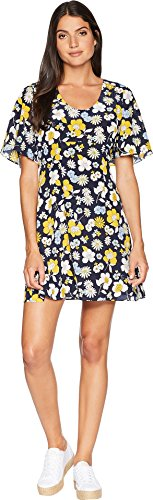 Juicy Couture Women's Silk Garden Floral Flirty Dress Regal Garden Floral 4