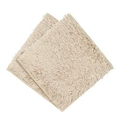 Clearance Sale!UMFun Absorbent Soft Bath Bedroom Floor Square Mat Shower Rug Non-slip Carpet (B)