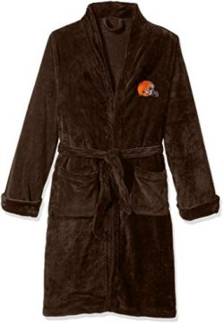 The Northwest Company Officially Licensed NFL Cleveland Browns Men's Silk Touch Lounge Rob ...