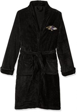 The Northwest Company Officially Licensed NFL Baltimore Ravens Men's Silk Touch Lounge Rob ...