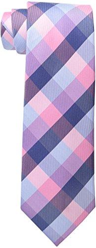 Tommy Hilfiger Men's Buffalo Tartan Tie, Pink, One Size