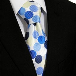 Classic Corporate Executive Wardrobe Accessory, Navy Blue , Sky Blue, Midnight Blue and Beige Po ...