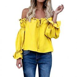 CUCUHAM bright tank clothes nice outerwear on sale loose khaki styles blouse cute short sleeve b ...