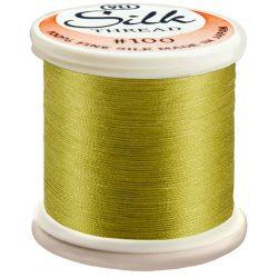 Silk Thread 100wt 200m-Victoria Green
