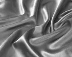 Mk Collection 4pc Soft Silky Satin Solid Color Deep Pocket Sheet Set (Queen, Silver/Grey)