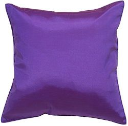 Avarada Solid Decorative Throw Pillow Covers Case Cushion Cover 16×16 inch for Sofa Couch C ...