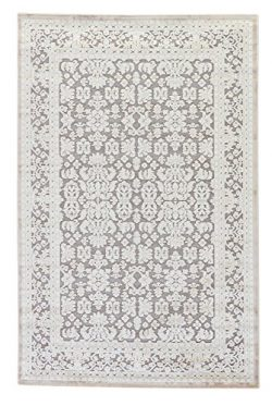Jaipur Living Regal Oriental Gray/Silver Area Rug (9′ X 12′)