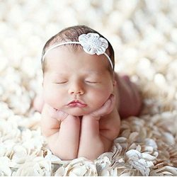 PePeng Newborn Photography Props, Use Soft 3D Rose Flower Backdrop Beanbag Rug to Create Memorab ...