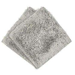 Clearance Sale!UMFun Absorbent Soft Bath Bedroom Floor Square Mat Shower Rug Non-slip Carpet (G)