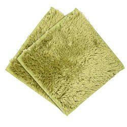 Clearance Sale!UMFun Absorbent Soft Bath Bedroom Floor Square Mat Shower Rug Non-slip Carpet (A)