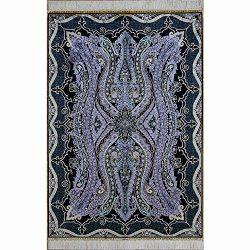 YILONG CARPET Yilong 4'x6′ Persian Silk Carpet Vintage Traditional Oriental Floral P ...