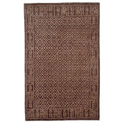 Safavieh Tibetan Collection TB230B Hand-Knotted Multicolored Silk & Wool Area Rug (4′  ...