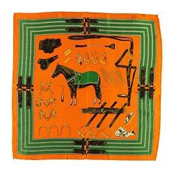 Silk Scarf Luxurious Square Warp -Pantonight 100% Silk Horse Scarf 21″21″ (silk hors ...