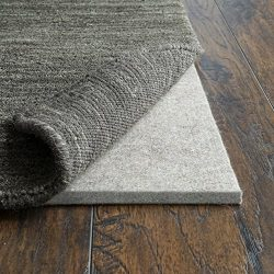 RUGPADUSA, Basics Felt Rug Pad, 1/2″ Thick, Adds Cushioning and Floor Protection, Safe for ...