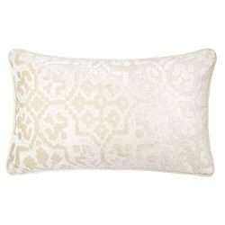 Homey Cozy Modern Velvet Rectangle Throw Pillow Cover,Ivory White Luxury Soft Fuzzy Cozy Warm Sl ...