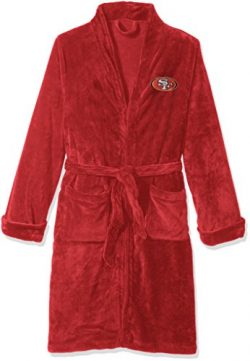 The Northwest Company Officially Licensed NFL San Francisco 49ers Men's Silk Touch Lounge  ...