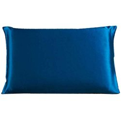 Savena Both Sides 22 Momme Mulberry Silk Pillowcase Benefit to Sleeping Soft Hypoallergenic Avoi ...