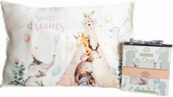 Silk Pillowcase Toddler – Baby and Kids Soft Sleeping Pillow Cover 13×18 – Hypo ...