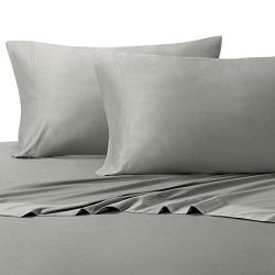 Royal Hotel Silky Soft Bamboo Queen Cotton Sheet Set – Gray