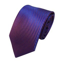 Liraly Clearance Mens Classic Jacquard Woven Striped Necktie Men's Tie Party Wedding Tie ( ...