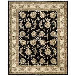 Nourison Silk Touch Black Rug – 7'9 x 9'9′
