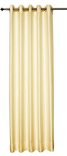 Zappy Cart Blackout Curtains from Satin Dupioni Faux Silk Curtains, Each 51″ (130 cm) Wide ...