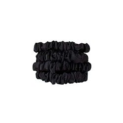 Kitsch Rituals Collection Mulberry Silk Sleep Scrunchies, Anti-Frizz, Anti-Breakage Hair Scrunch ...