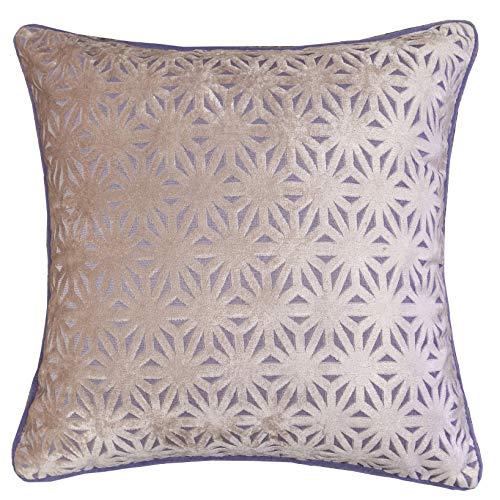 Homey Cozy Modern Velvet Throw Pillow Cover,Elegant Geometric Soft Fuzzy Cozy Warm Silk Decorati ...